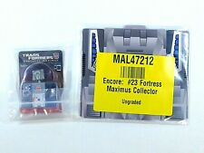 TRANSFORMERS ENCORE FORTRESS MAXIMUS COIN JACK & PLUG SEALED BAGGIES