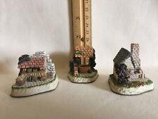 David Winter Cottages - Cameos - Lot of 3 - Penny Wishing - Barley Malt - Market
