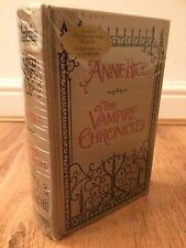ANN RICE THE VAMPIRE CHRONICLES LEATHER BOUND HARDBACK BOOK
