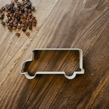 Bus Cookie Cutter - Fondant - 3 Sizes - Vehicle
