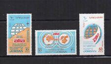JORDANIE 1975 Y&T N°838 à 840 3 timbres neufs avec charnière /T4027