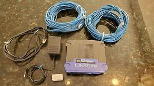 Cisco Linksys Ethernet Cable/Ethernet Router 8 Port Switch BEFSR81 v3