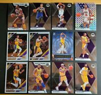 HUGE 2019-20 Los Angeles Lakers Lot: Anthony Davis Magic Johnson Silver Prizm ++