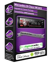 MERCEDES SERIE B DAB Radio, Pioneer CAR stereo DAB USB AUX Lettore + Dab Aerial