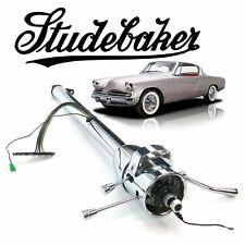 """1932-1964 Studebaker 33"""" Chrome GM TILT STEERING COLUMN SHIFT v8 289 skybolt 304"""