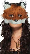Da Uomo Donna Urban Fox Animale Halloween Festival Costume Vestito Maschera