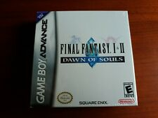 Final Fantasy I & Ii: Dawn of Souls (Nintendo Game Boy Advance, 2004) Sealed!