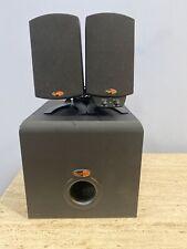 Original Klipsch ProMedia 2.1 THX Powered Sub Woofer & Speaker Set Black