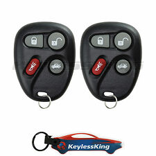 2 Replacement for Cadillac SRX - 2004 2005 2006 4b Keyless Entry Car Fob Remote