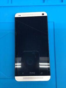 HTC One M7 (HTC6500L) - 32GB - Verizon Wireless- Silver Smartphone -