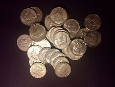 $15.00 US90% Silver HALVES ONLY Coins Kennedy and Franklins ONE 1