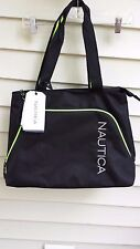 Nautica Catamaran 2 18 Unisex Tote Bag BLACK W/ VIBE YELLOW (2679C35)