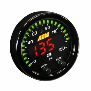 AEM Electronics Motorsport X Series Oil Pressure Gauge