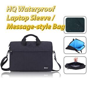 Zipper Laptop Waterproof Protection Briefcase Messenger Bag for MacBook Pro Air