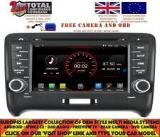 AUTORADIO GPS WIFI BT ANDROID 9.1 DAB+ CARPLAY WIFI AUDI TT 2006-12 BOSE K5525