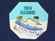 New Original 2016 Seasonal Cape May, NJ Beach Tag/Badge, Free Shipping