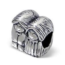 925 Sterling Silver Man/Women Married Couple Mr/Mrs Friends Charm Bead Gift B304