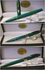 Penna a sfera Roller W. Sheaffer Imperial Green Vintage 1975/1980