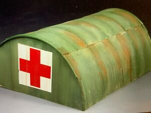 1/35 diorama military vietnam us army  quonset hut with extensions Masterpiece