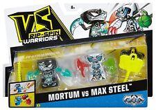 VS Rip-Spin Warriors Max Steel 2 Pack-mortum vs Max Steel