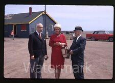 1967 kodachrome photo slide  Mayor Munro North Sydney Nova Scotia Canada #1
