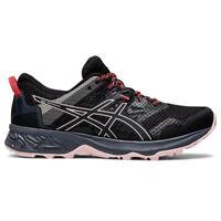 Asics Gel-Sonoma 5 Womens Ladies Trail Running Trainer Shoe Black/Pink - UK 5.5