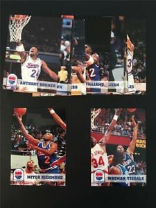 1993/94 NBA Hoops Sacramento Kings Team Set 13 Cards