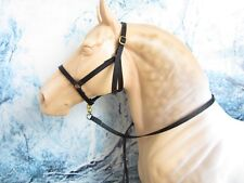 """DPH-""""Nylon"""" Halter & Lead, made to fit Peter Stone Traditional DRAFT Model Horse"""
