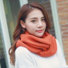 10 Colors Cotton Scarves Women Holiday Ring Scarf Winter Students Warm Scarfs