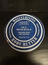 Om She Moisturing Body Butter Sea Minerals w shea butter