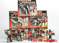 NEW TRANSFORMERS G1 Reissue Dinobots Grimlock/Swoop/Slag/Snarl/Sludge
