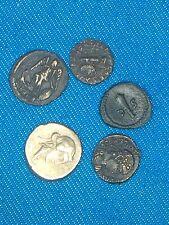 Ancient Roman/Greek Coins 5 Coins Very Rare