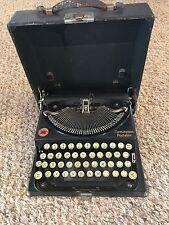 Antique Remington Portable Typewriter 1920's