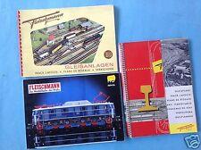 3t-colección Fleischmann Spur ho/00 modelo de ferrocarriles de vía instalaciones-, total de catálogo