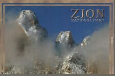 TOWERS AND TEMPLES OF THE VIRGIN - ZION NATIONAL PARK, UTAH POSTCARD