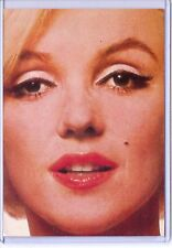 STAR 30 MARILYN MONROE NORMA JEAN CELEBRITY FACE REPRODUCTION POSTCARD 1980