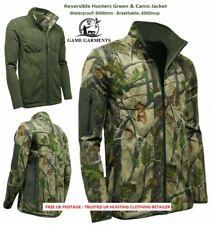 Camouflage & Hunters Green Pursuit Reversible 2 in 1 Waterproof Jacket