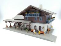 Faller Station with Figures Included - OO/HO - (see description)