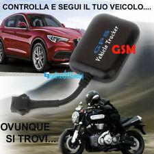 LOCALIZZATORE SATELLITARE GPS GSM GPRS ANTIFURTO TRACKER H08 X AUTO MOTO BARCA