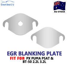For Ford Ranger PX MK BT50 B32 PUMA P5AT  2.2L 3.2L EGR Blanking Plate 304 Steel