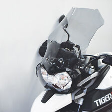 Medium Windschild Triumph Tiger 800 XCX & XRX TRANSPARENT 500mm
