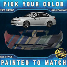 New Painted to Match - Front Bumper Cover for 2008-2011 Subaru Impreza and WRX