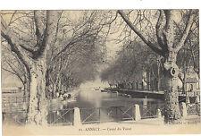 74 - cpa - ANNECY - Canal du Vassé