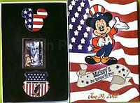 Disney Mickey's Star Spangled Event Walt & Mickey Mouse Pin