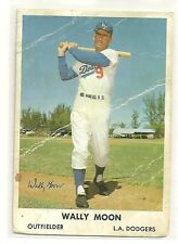 1961 Bell Brand Potato Chips Wally Moon Card # 9 Poor Condition