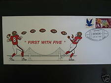 1995 49er first w/5 FDC Championship station SF