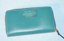 Kate Spade Wallet - Leather - Green - Mint Condition!