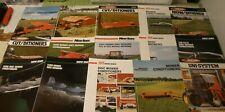 15 Farm Advertising Brochures NEW IDEA  agriculture equipment mower cut ditioner