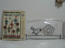WELCOME HOME JEWELED BANNER KIT & HANGER NIP (NEW IS PACKAGE) BY DESIGN WORKS