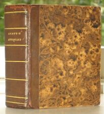 1822, ROMAN, ÉCOSSE, W. SCOTT, The antiquary. By the author of « Wawerley »,LA19